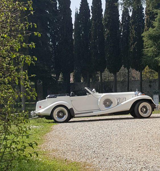Rolls Royce bianca per sposi