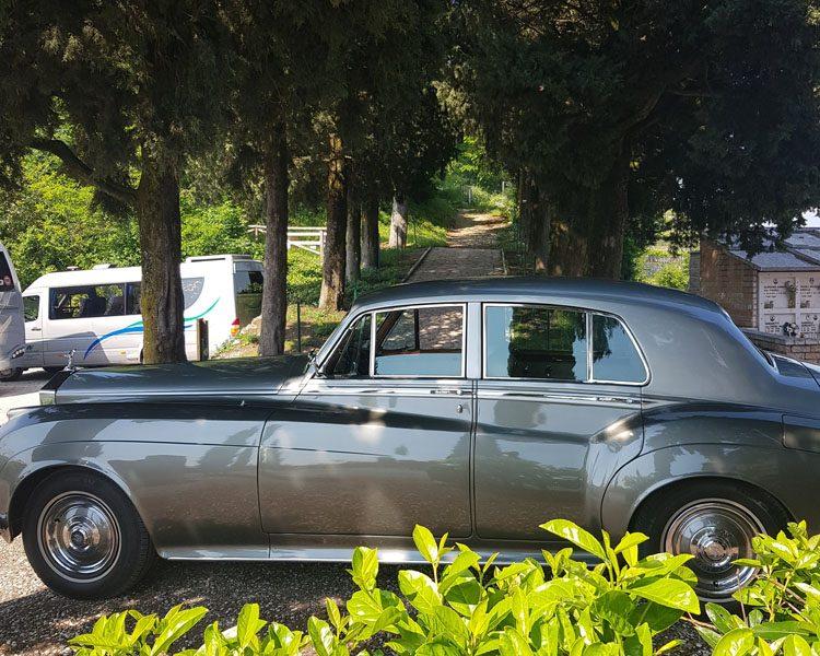 Lato sinistro Rolls Royce