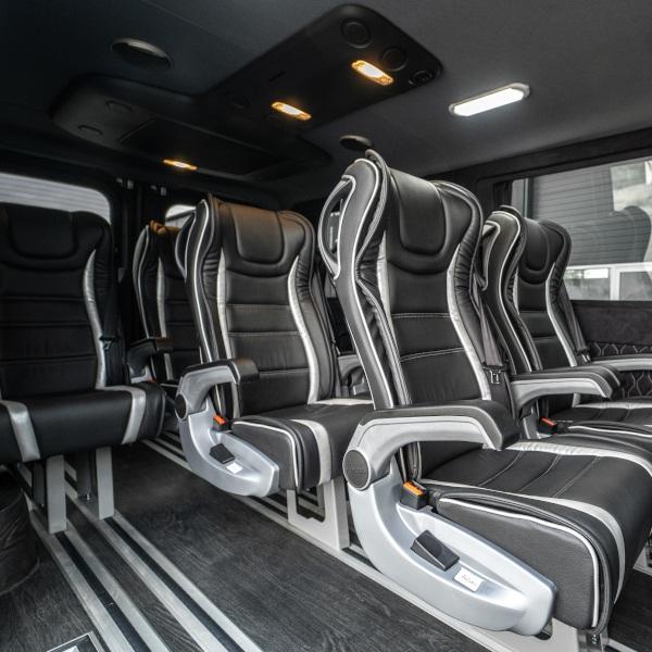 Interni Mercedes Benz Sprinter VIP