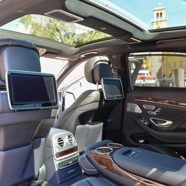 Interni Mercedes Benz classe S